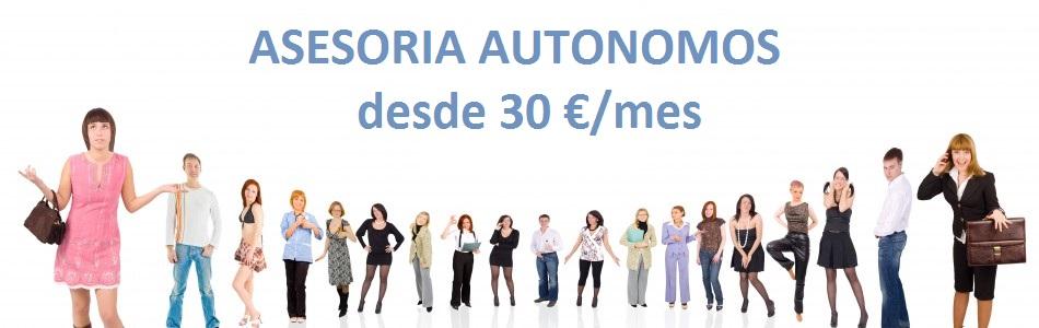 ¿Eres Autónomo? Toda la gestión fiscal y contable de tu negocio desde 30 €/mes