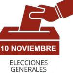 Normas respecto del horario laboral para que los trabajadores puedan ejercer su derecho a voto en las elecciones del próximo día 10 de Noviembre